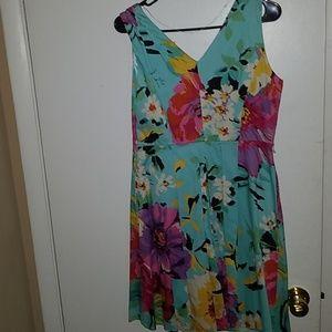 Colorful dress